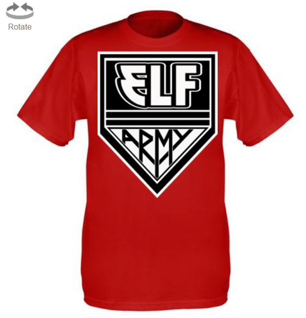 Elf Army T-Shirt (CURRENTLY UNAVAILABLE)